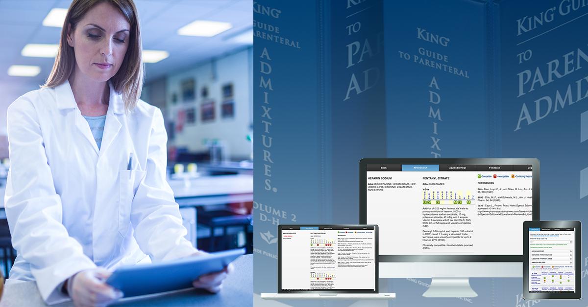 King Guide Online IV Drug Compatibility